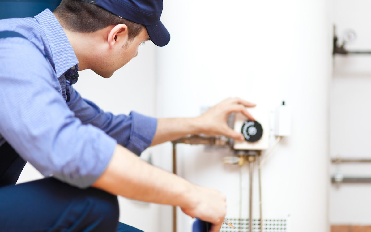 Palm hArbor water heater installation