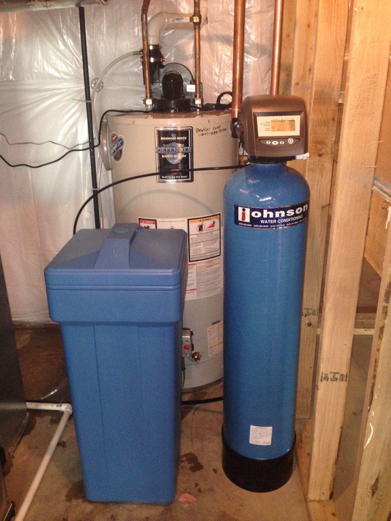 Installed Water Softener